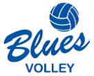 Blues Volley D-C tytöt Logo