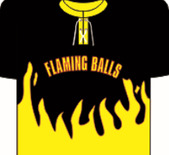 Flaming Balls Säbä Logo
