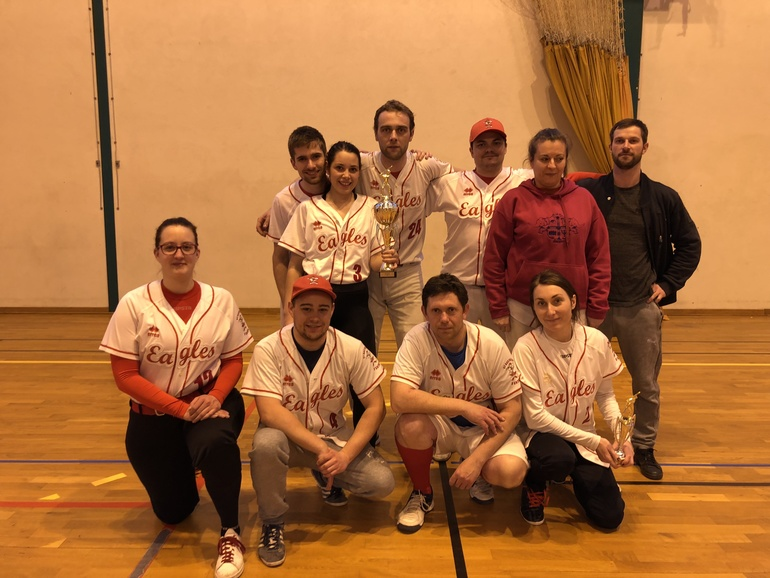 Eagles Softball Mixte: photo d'équipe